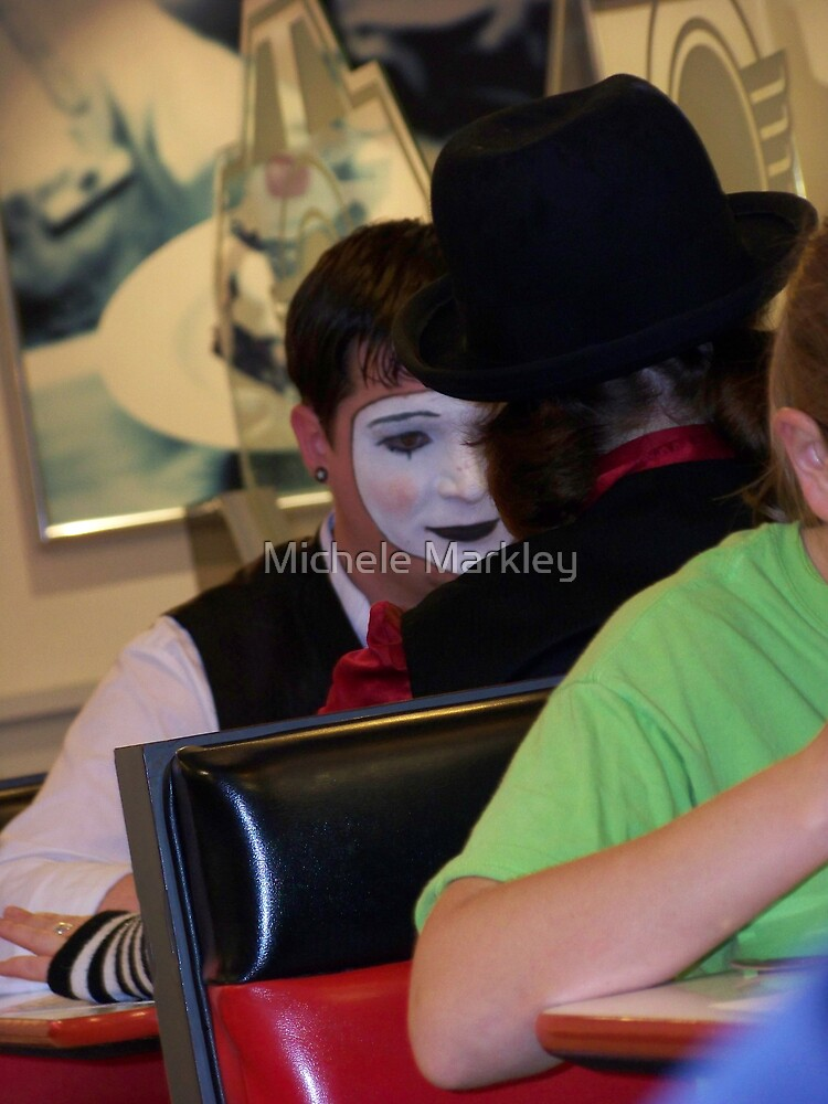 The Masks We Wear by Michele Markley