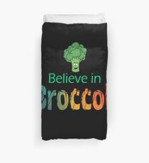Believe In Broccoli Gift Duvet Cover