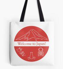 Set of Japan traditional design elements. Tote Bag