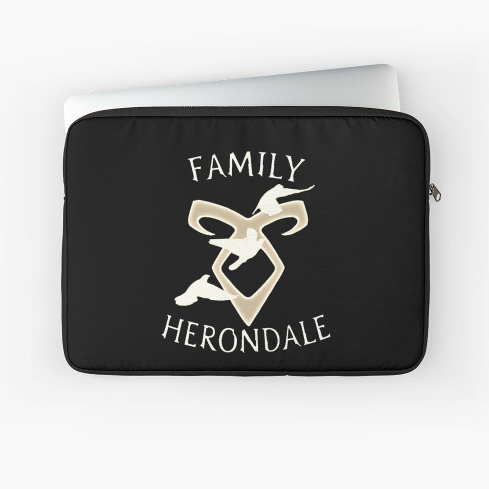 family herondale Laptop Sleeve