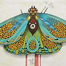psychedelic butterfly  (original sold) by federico cortese