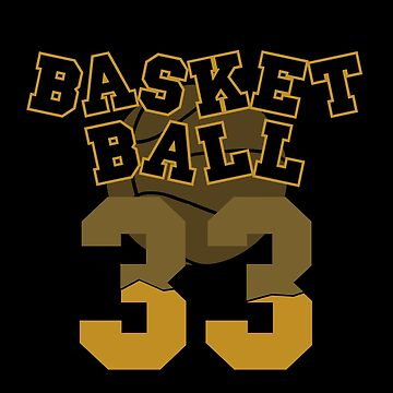 Basketball 33 by dmcloth