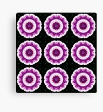 Allium Manipulation Grid Canvas Print
