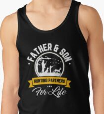 Father And Son Hunting Partners For Life Father's Day Shirt Men's Tank Top