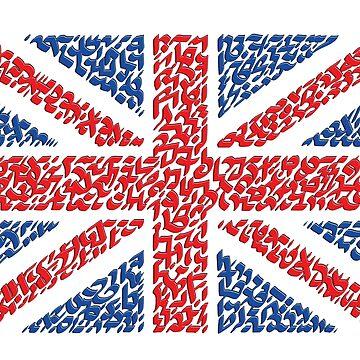 The national flag of the United Kingdom, The Union Jack, the Union Flag by Karotene