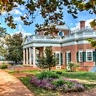 Monticello in the Fall by Viv Thompson