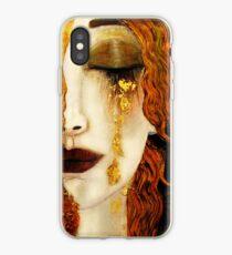 Klimt Golden Tears iPhone Case