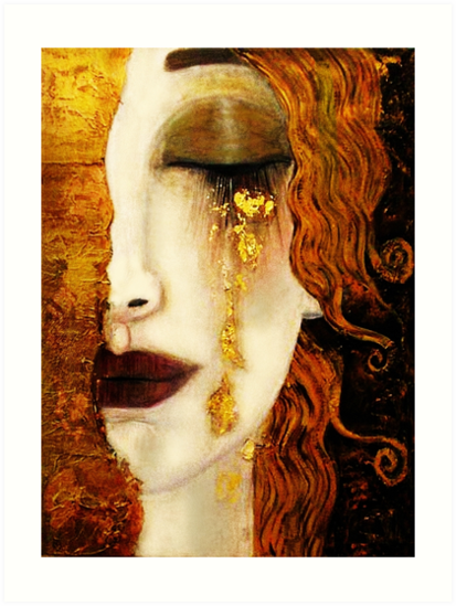 «Klimt Golden Tears» de timelessfancy