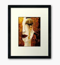 Klimt Golden Tears Framed Print