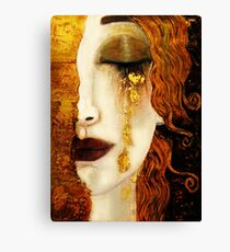 Klimt Golden Tears Canvas Print