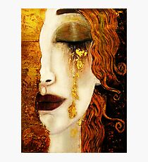 Klimt Golden Tears Photographic Print