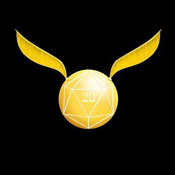 golden snitch by Vagrantwanderer