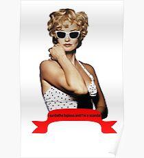 Carly Marshall - Jessica Lange Poster