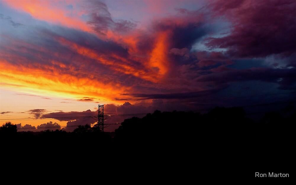 Fiery Dawn 1 (Macquarie Park) by Ron Marton