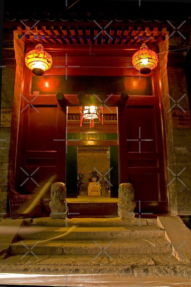 Hutong Door by KLiu