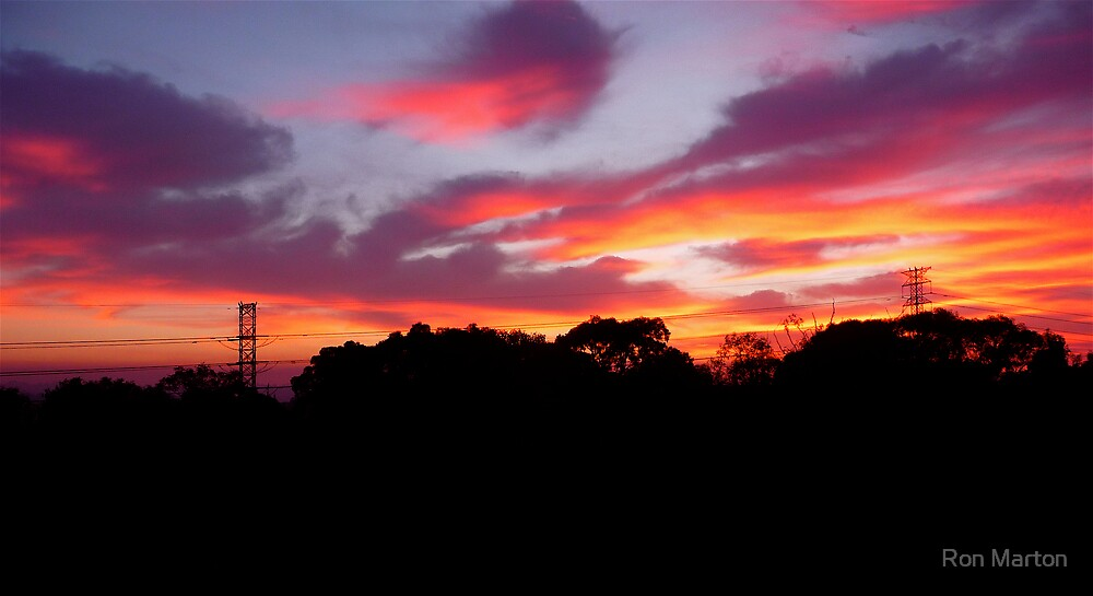 Fiery Dawn 2 (Macquarie Park) by Ron Marton