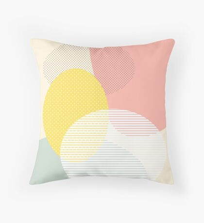 Lost In Shapes II #redbubble #buyart Throw Pillow