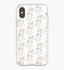 Playful flowers iPhone Case