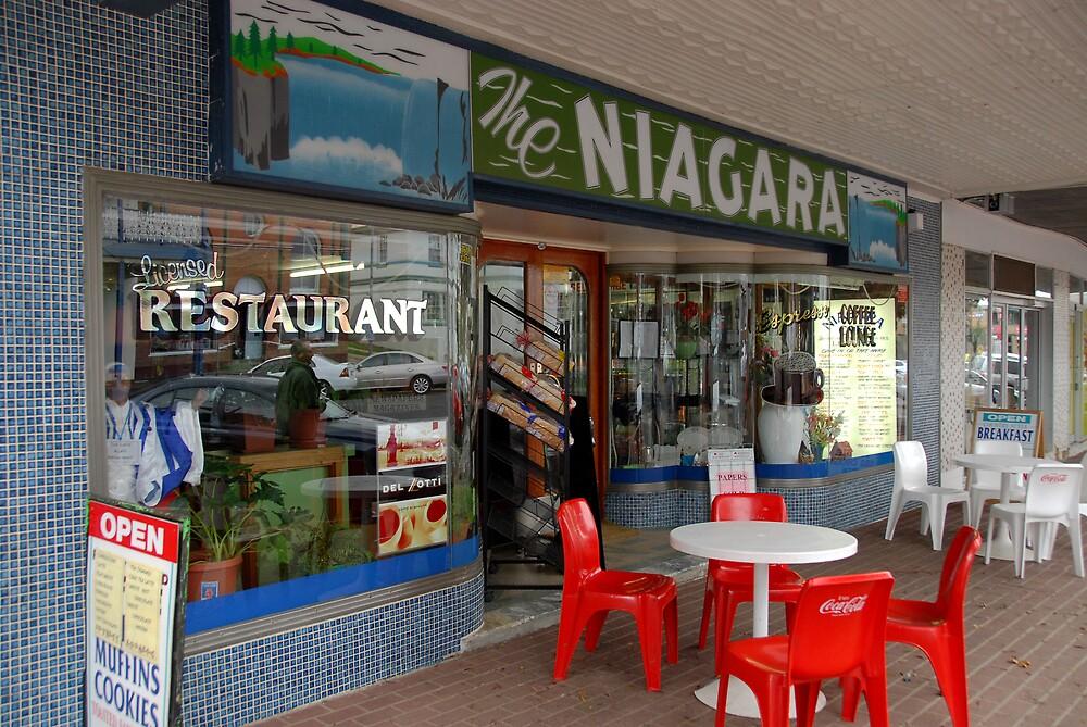 The Niagara ~ Gundagai by Richard  Stanley
