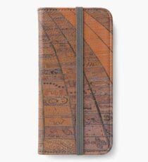 Brick Footpath, Melbourne iPhone Wallet/Case/Skin