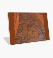 Brick Footpath, Melbourne Laptop Skin