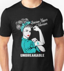 Ovarian Cancer Warrior Unbreakable Unisex T-Shirt