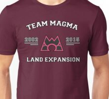 Team Magma - Land Expansion Unisex T-Shirt