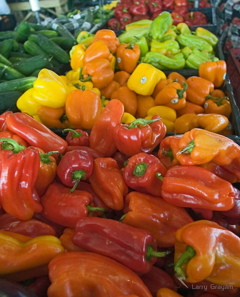 Peppers by Larry  Grayam