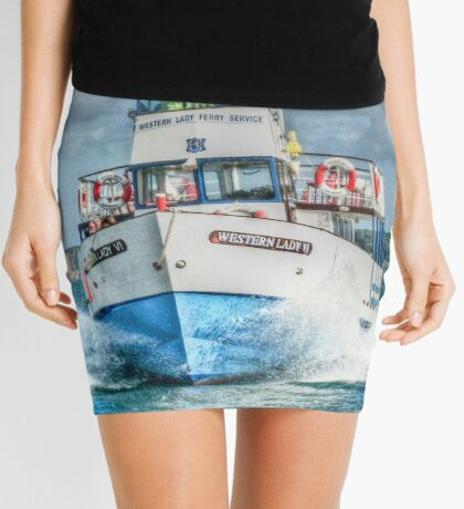 Look out - we're coming through! Mini Skirt