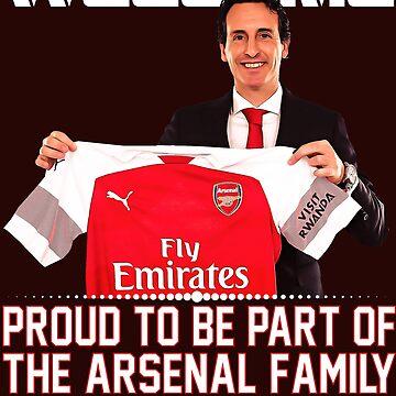 Unai Emery Arsenal Camiseta de Tropicalis
