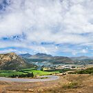 Fantastic Views of Queenstown from above by Danielasphotos