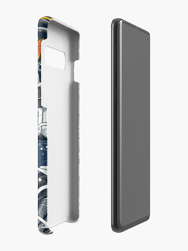 Alternate view of Nu Gundam Awesome Case & Skin for Samsung Galaxy