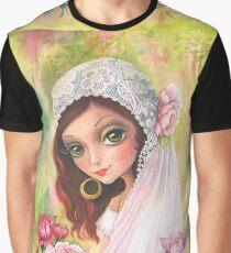 Gypsy bride. Watercolor Graphic T-Shirt