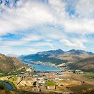 Spectacular Panoramic Views over Queenstown by Danielasphotos