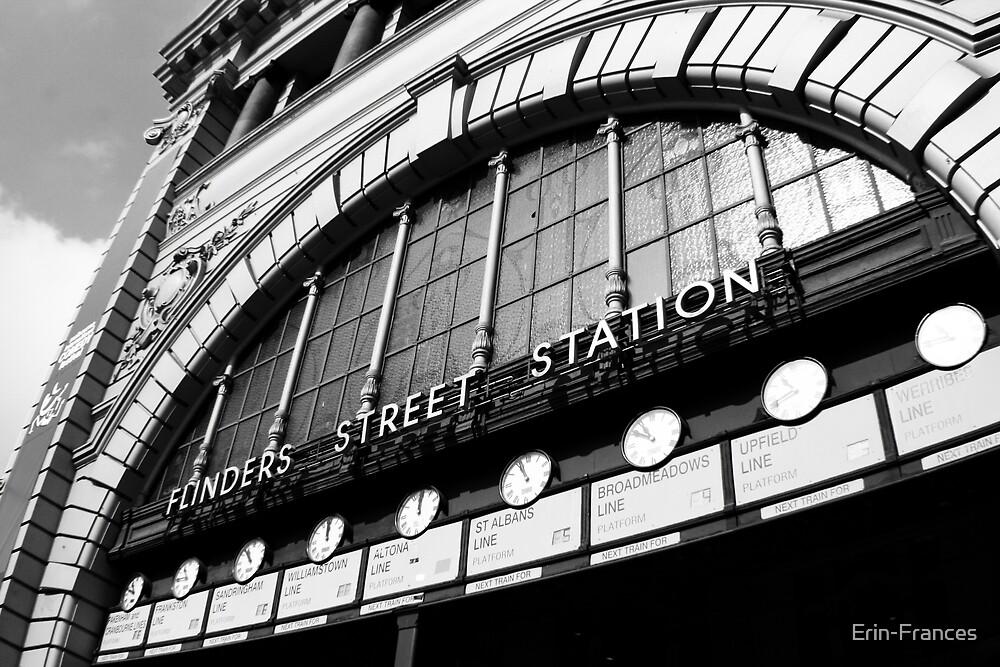 Flinders Street Station by Erin-Frances