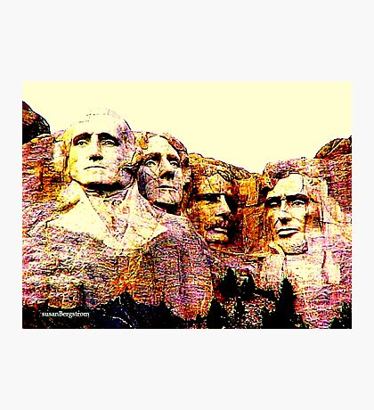 Carved In Stone Photographic Print