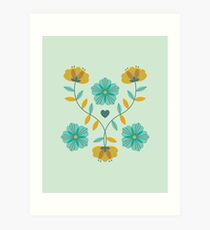 flowers everywhere/2 Art Print
