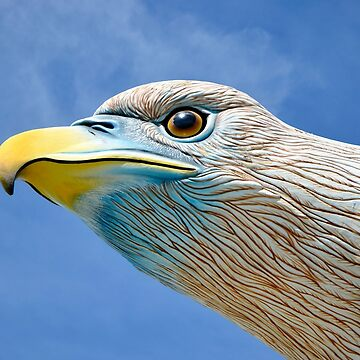Eagle Square Raptor Monument Detail at Langkawi Malaysia by HotHibiscus