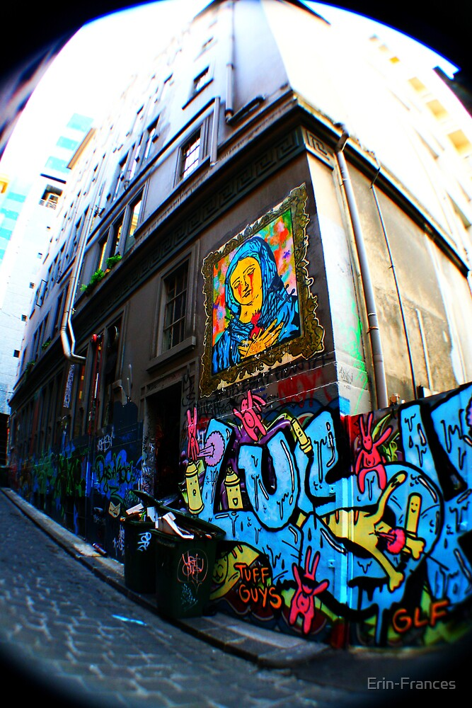 Art though out Melbourne by Erin-Frances