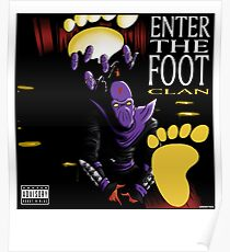 Enter The Foot Clan Poster