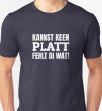 Low German Typical North German Northern Germany Slim Fit T-Shirt