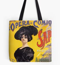 Comic Opera French Classic Vintage Poster Tote Bag