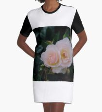 Roses Graphic T-Shirt Dress