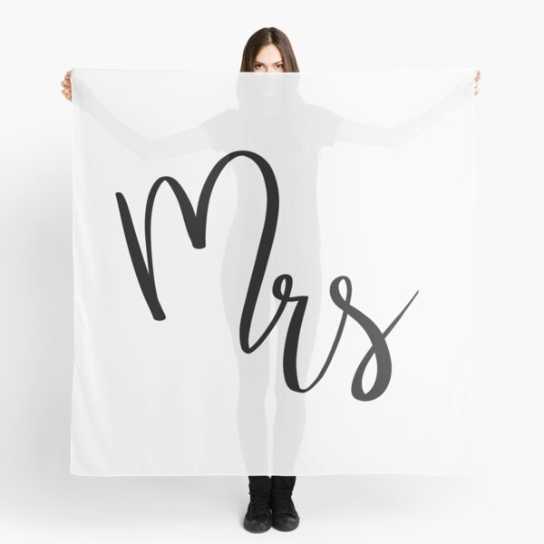 Mrs by Alice Monber Scarf