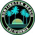 Surf Huntington Beach California Surfing Ocean Beach Surfer by MyHandmadeSigns