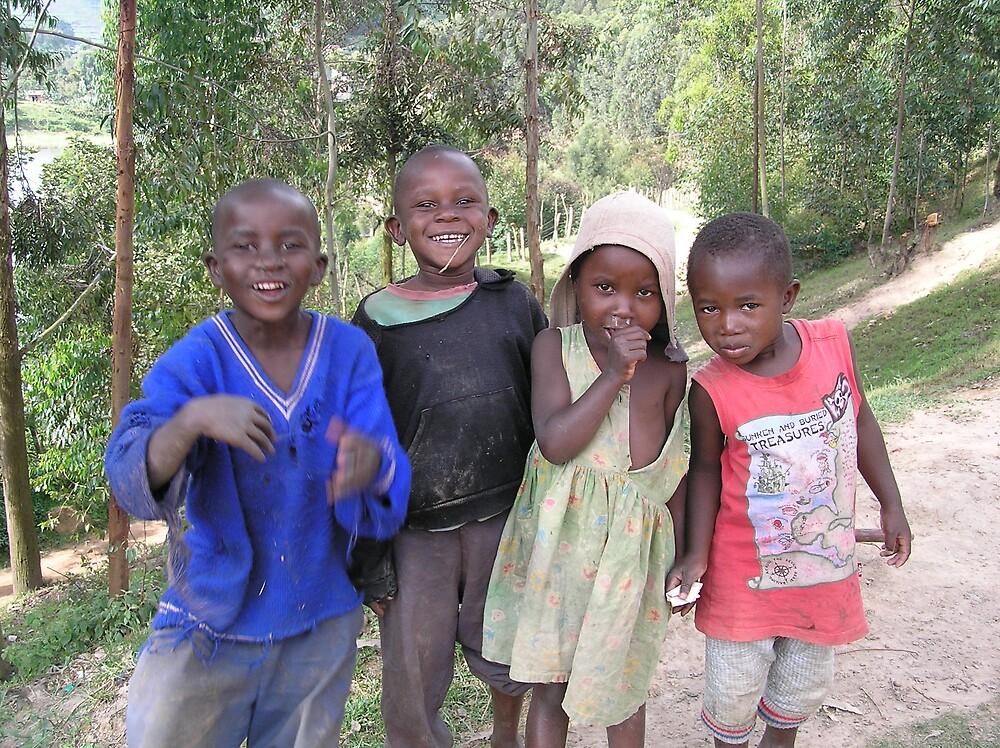 Children of Lake Bunyoni by Kellie Scott
