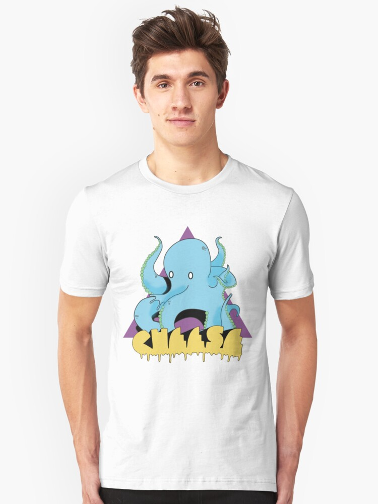 Octo-cheese? Unisex T-Shirt Front
