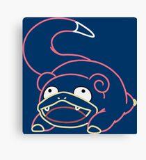 Minimalist Dopey Pokemon Canvas Print