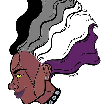 PRIDE MONSTERS- Frankenstein, Asexual Pride Flag by JMTolman