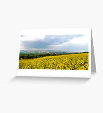 Tekirdag Cloudburst Greeting Card